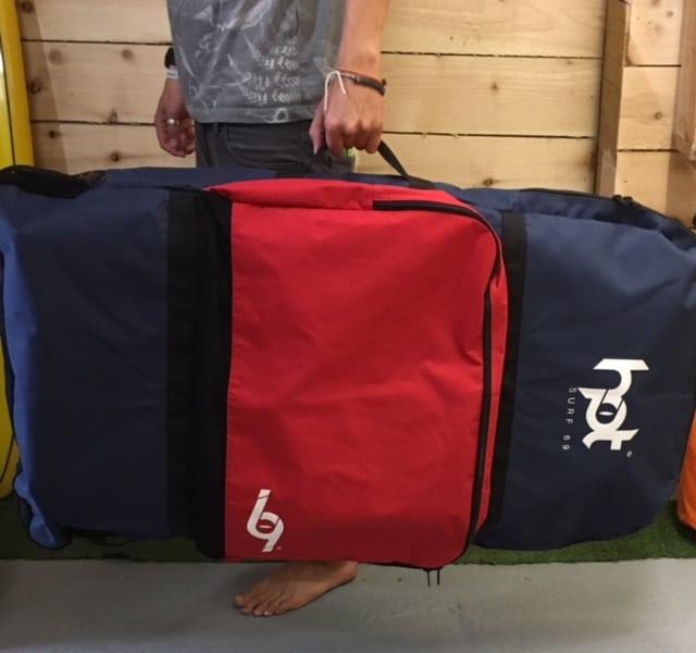 Hotsurf 69 Bodyboard Bag   Double Body Board Bags With Carry Straps ... 01fdaa4b27b4c